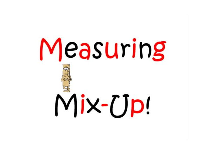 Measurement Mix Up