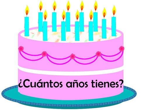 SPANISH - How old are you? - ¿Cuántos años tienes?