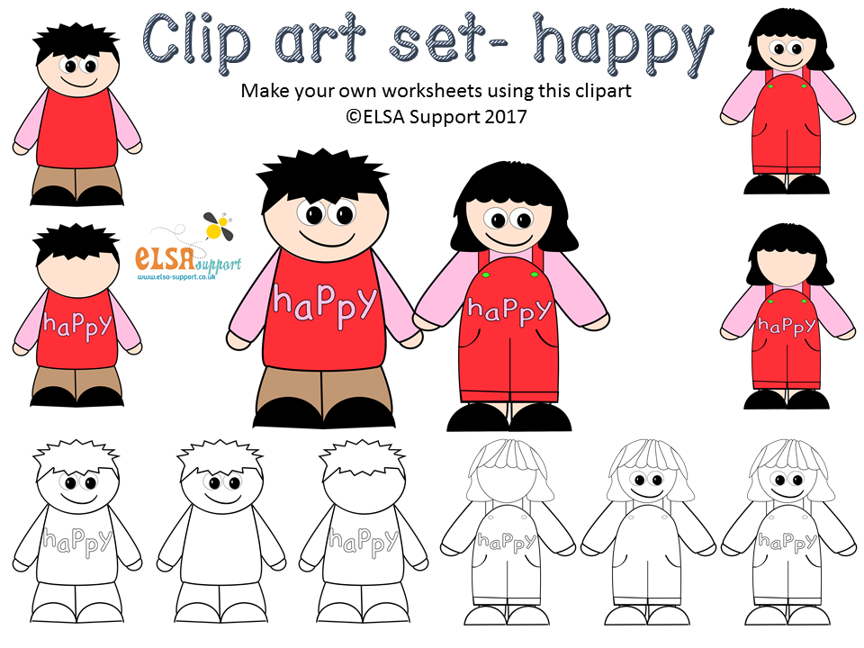Emotions Clip art - Happy