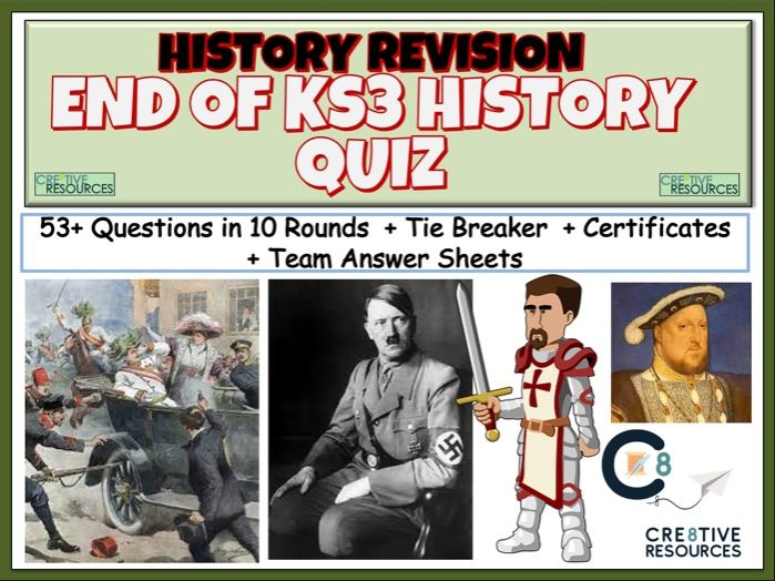 History End of Term KS3 Quiz