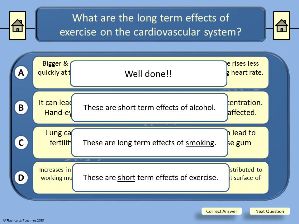 GCSE PE: Cardiovascular System - Multiple Choice