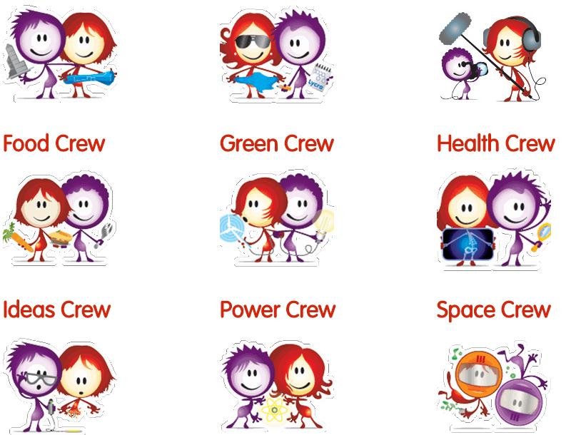 'Whose Crew Are You?' STEM careers quiz