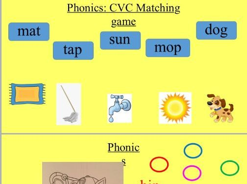 Phonics/Maths PPT Year R