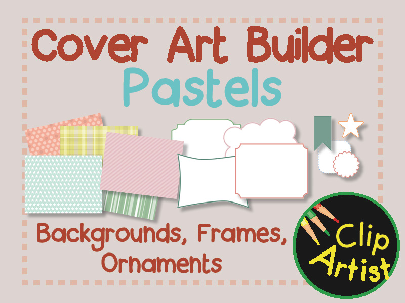 Cover Builder for Authors and Presentations - Pastels