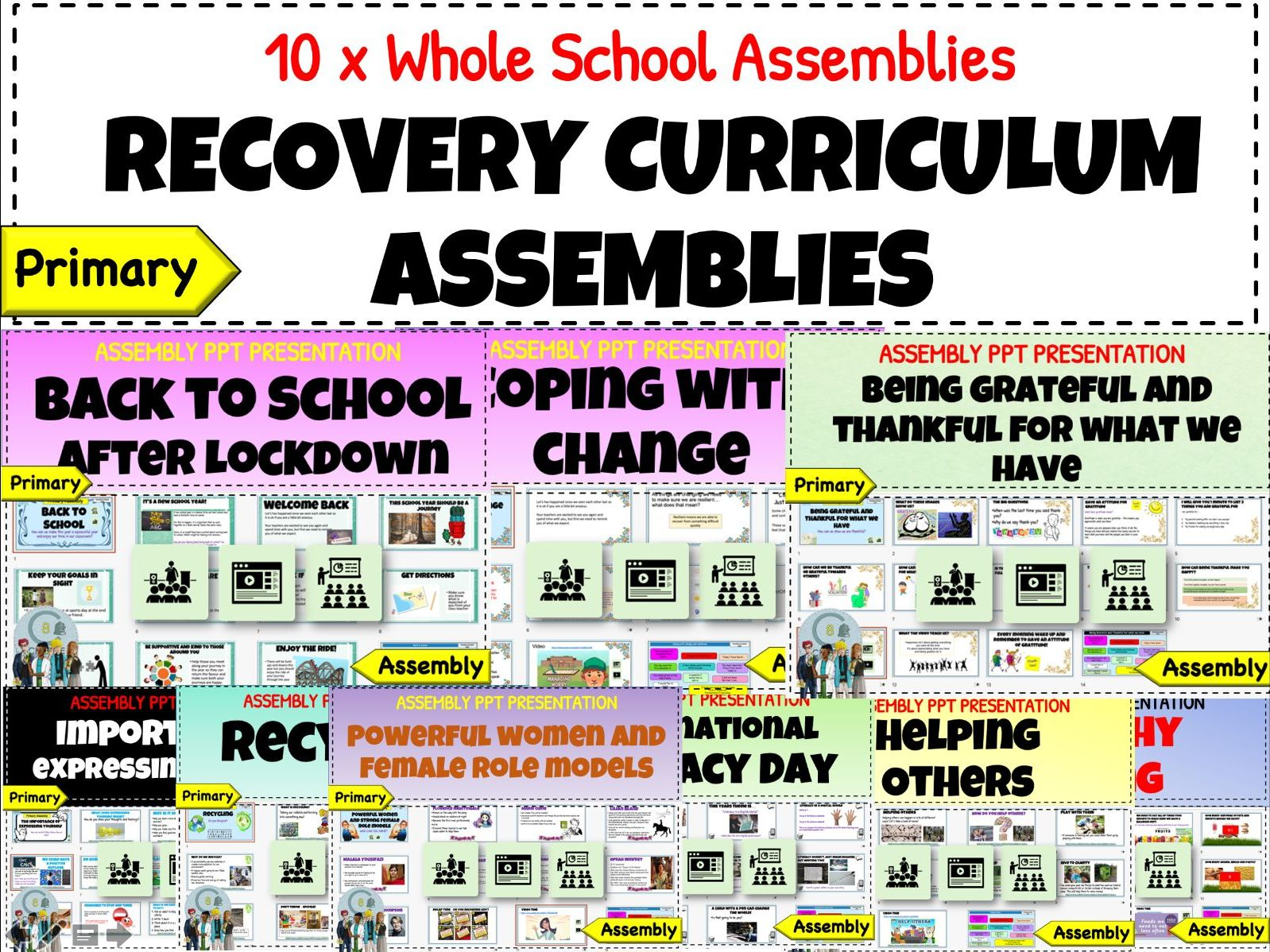 Back to school Recovery Curriculum