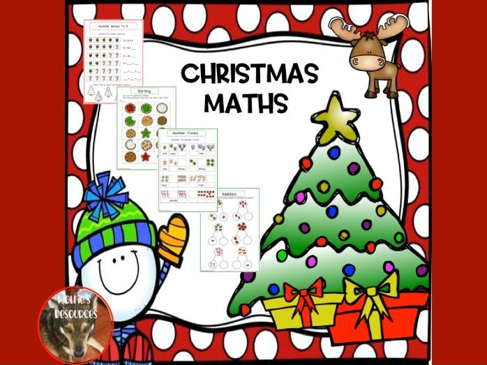 Christmas Maths Year 1