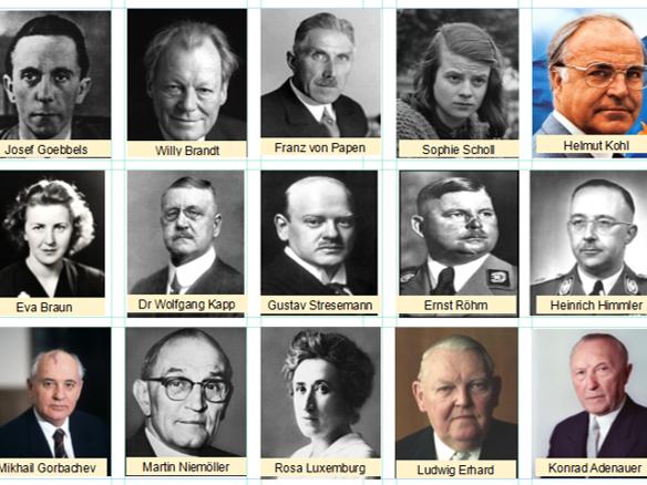 Eduqas/WJEC GCSE History Germany 1919-1991 REVISION ACTIVITIES