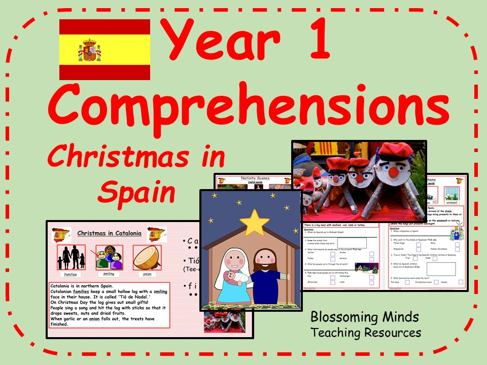 Year 1 comprehensions - Christmas in Spain
