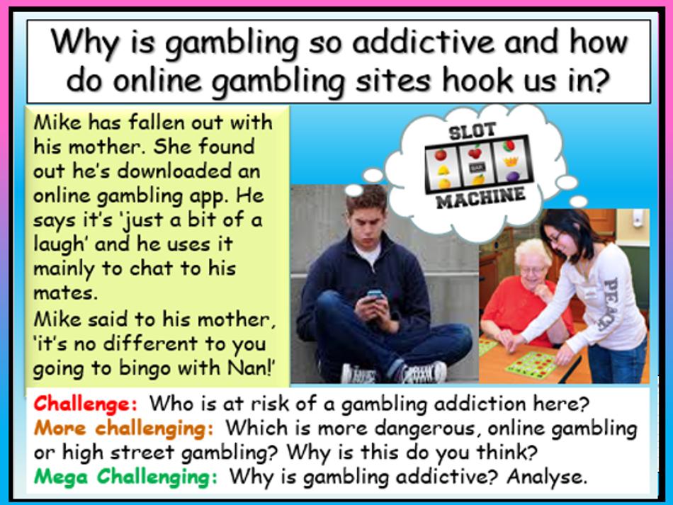 Online Gambling PSHE 2020