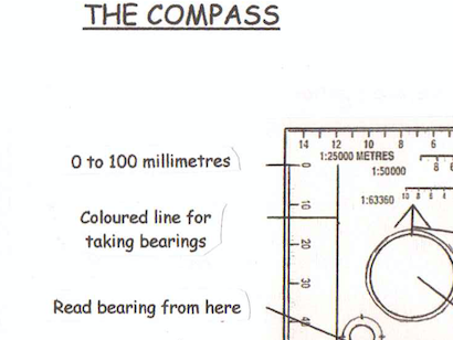OAA, map reading and compass resource