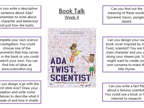 Ada Twist, Scientist Book Talk
