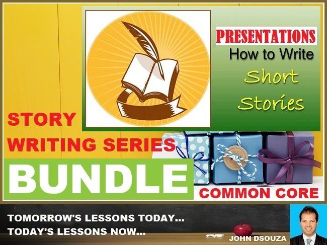 STORY WRITING PRESENTATIONS: BUNDLE