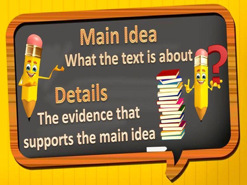 Quiz - Main Idea of the Text