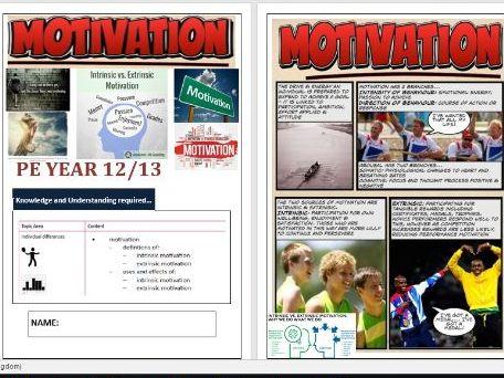 OCR A Level PE  - Sports Psychology ILT3 - Motivation