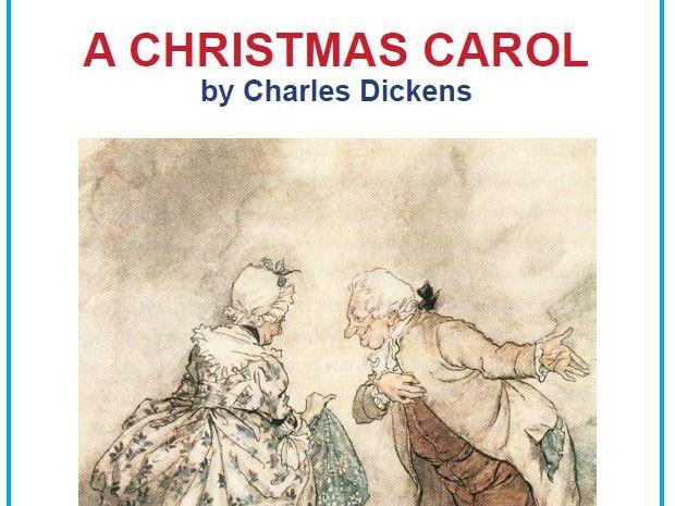 KS4 A Christmas Carol Scheme of Work