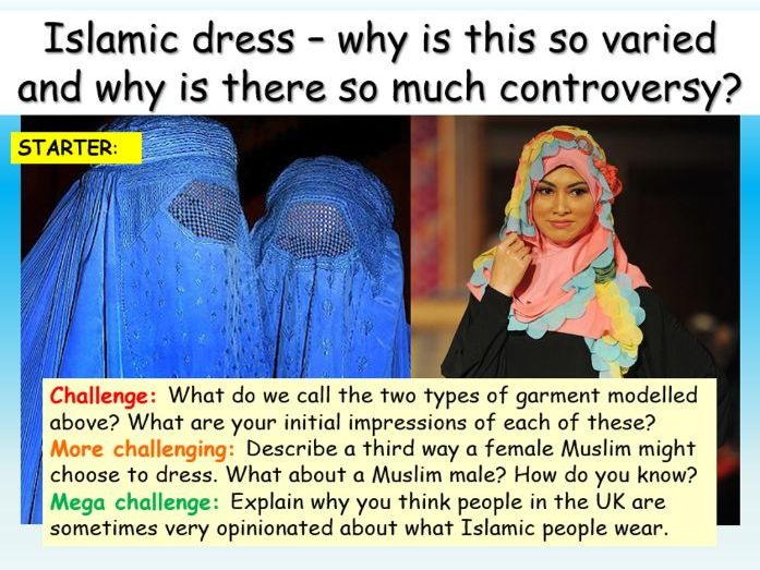 Islam : Islamic Clothing