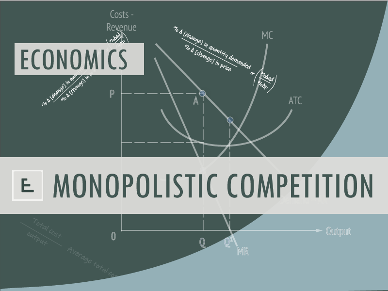 Economics - Monopolistic competition