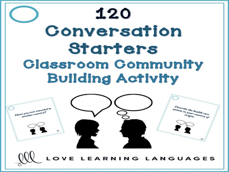 120 conversation starters for community building in the classroom