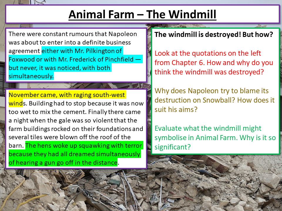 Animal Farm Windmill
