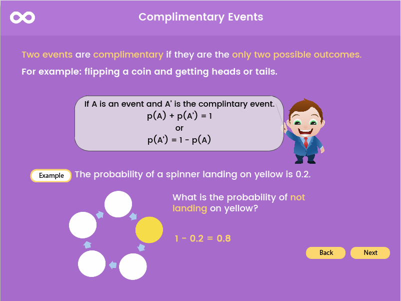 Probability - Key Stage 3, (Year 7, 8, 9), (US Grades 6th - 8th)
