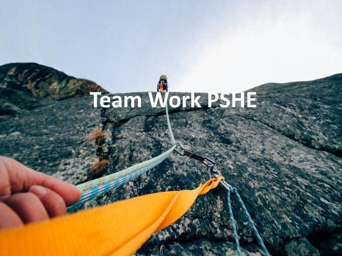 Teamwork PSHE