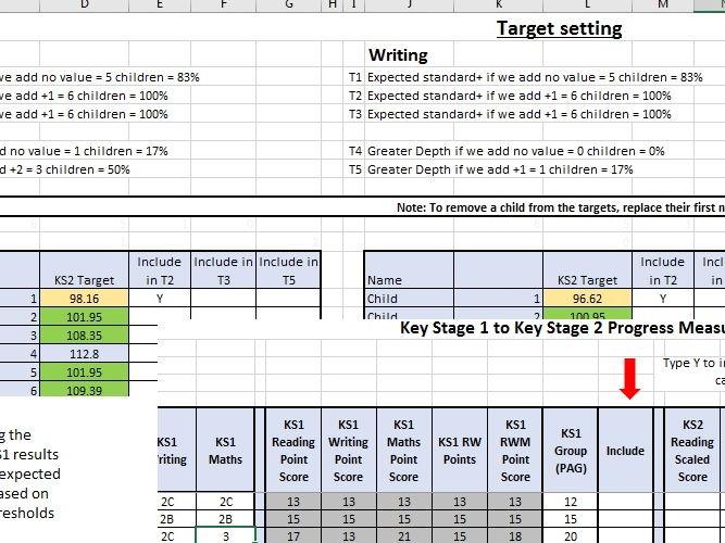 KS1 to KS2 Progress measure and target setting (2017 version)