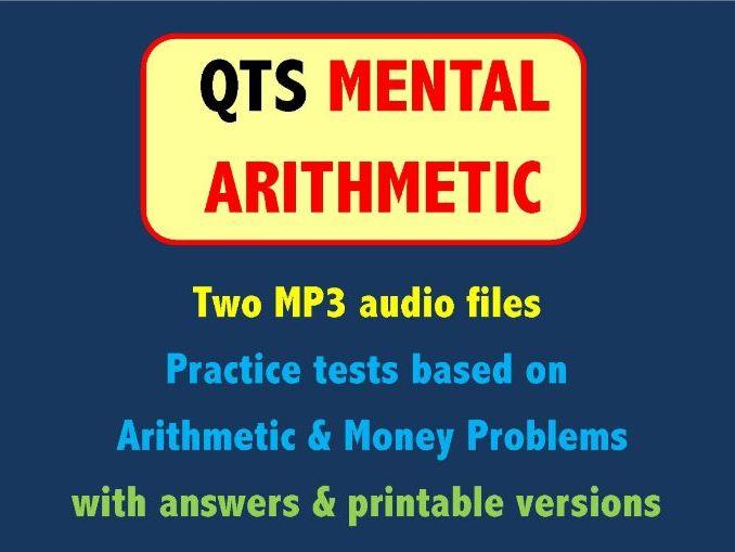 QTS Mental Arithmetic Tests - Arithmetic & Money Problems