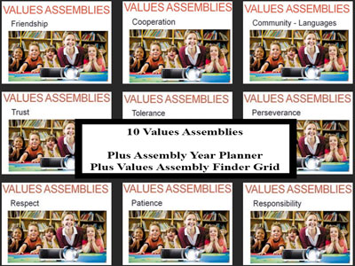 10 Assembly Presentations Plus 2 Assembly Planners