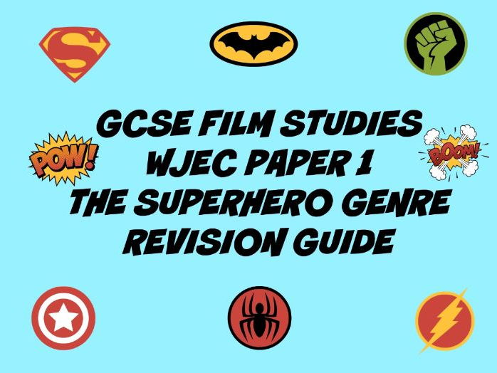 WJEC GCSE FILM STUDIES: A REVISION GUIDE FOR PAPER 1