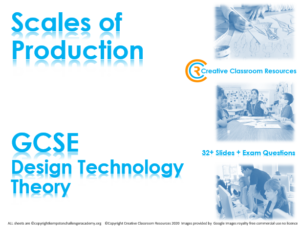 GCSE DT Theory (New Spec) – Scales of Production