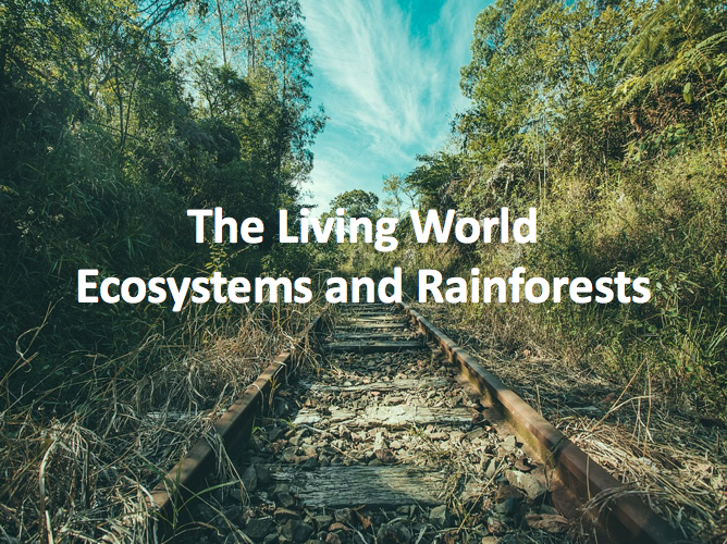 The Living World - Ecosystems and Rainforests