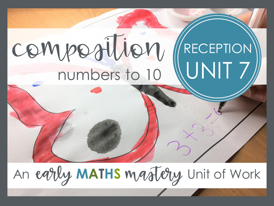 Composition of numbers to 10 - Reception maths mastery planning