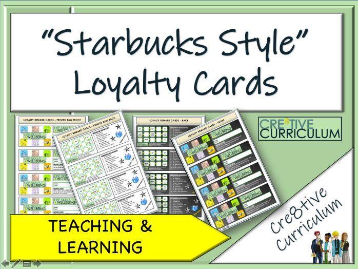 Loyalty Reward Cards