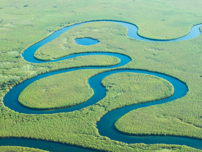 Why do Rivers Bend? (Meanders & Ox-bow Lakes)