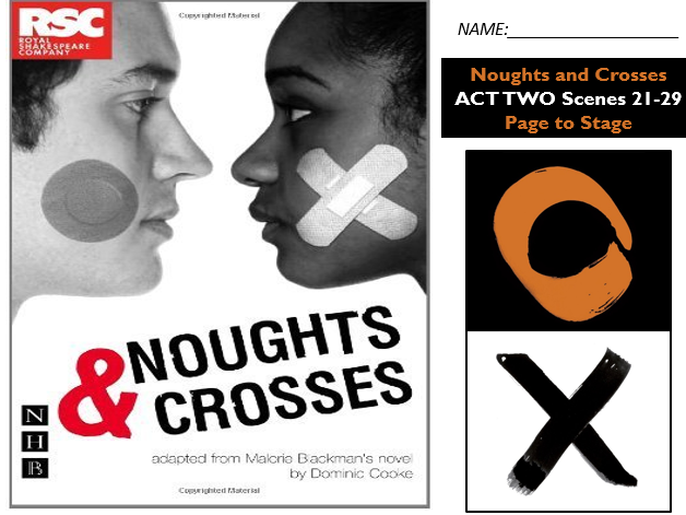 GCSE Drama Home Learning - Noughts and Crosses Act Two S 21-29