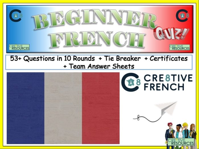 French for Beginners  Quiz