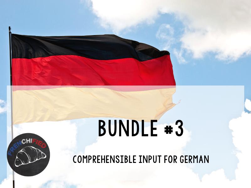 CI Video for German learners - Bundle #3
