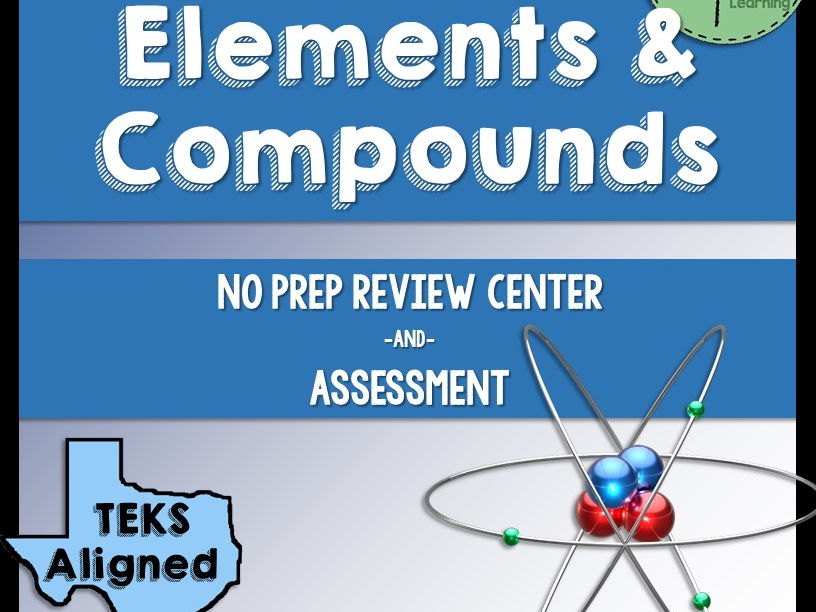 Elements and Compounds Review Center and Assessment