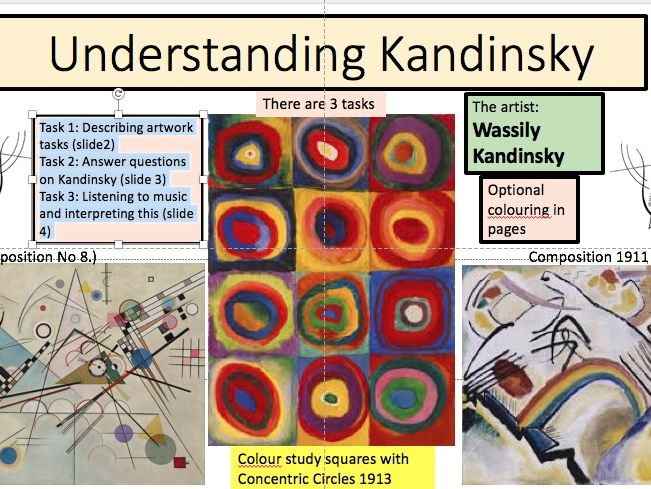Interpreting Abstract Art through Music Wassily Kandinsky