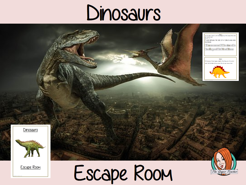 Dinosaurs Escape Room Game
