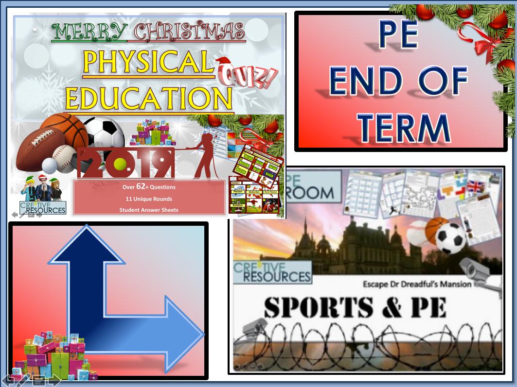 PE End of Term - Christmas 2019