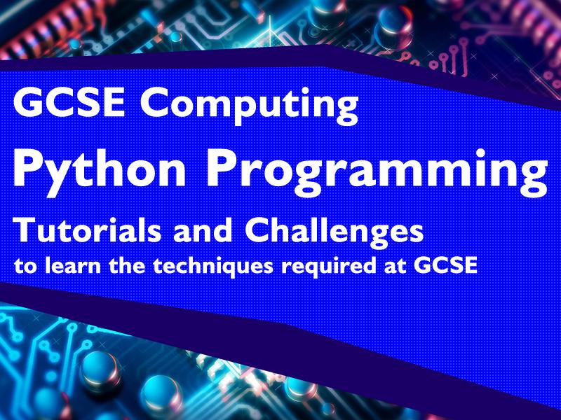 Python Programming Techniques (GCSE Level)