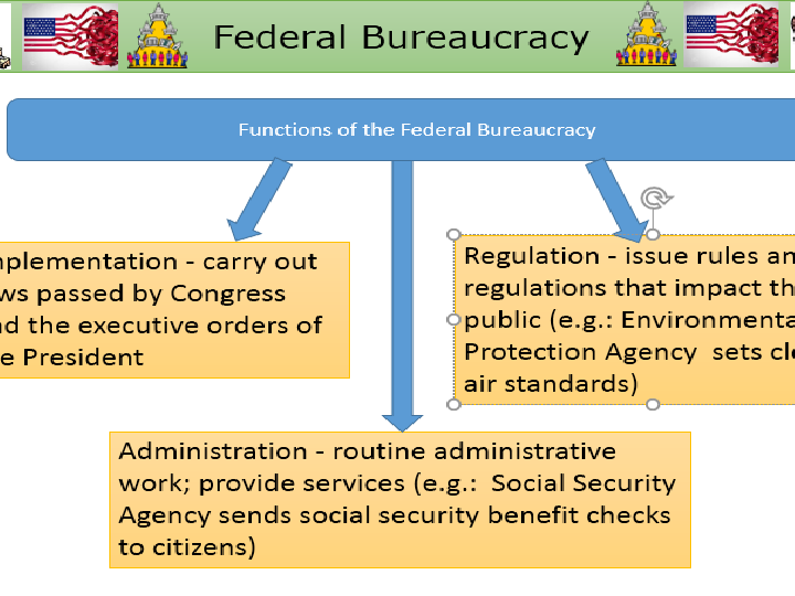 US Federal Bureaucracy - US Government and Politics