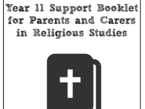 GCSE Religious Studies Edexcel - Parent Guide