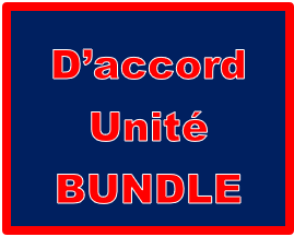 D'accord 2 Unité 1 Bundle