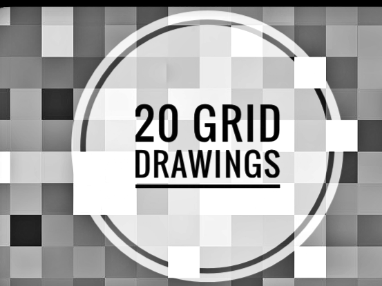 Substitute Lessons for Art. 20 grid drawing activities.