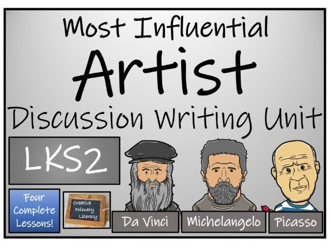 LKS2 Most Influential Artist Discussion Based Text Writing & Distance Learning Unit