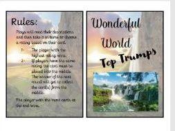 Wonderful World Educational Resource