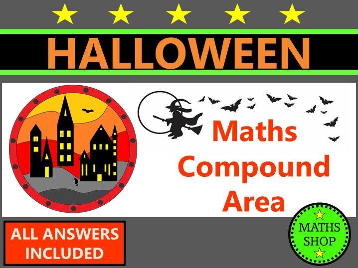 Halloween Maths Compound Area
