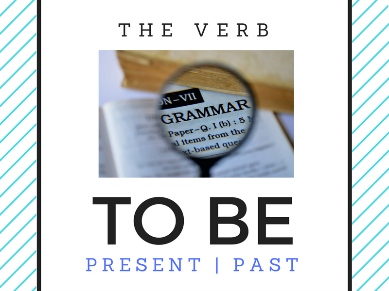The Verb To Be Board Game and Grammar Poster - ESOL / ESL
